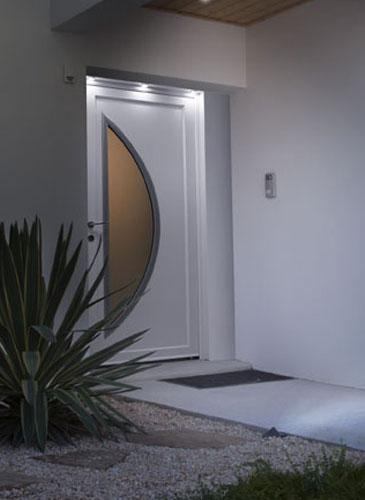 porte d'entrée PVC Confort + GIMM Menuiserie