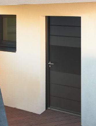 Portes d'entrée Acier