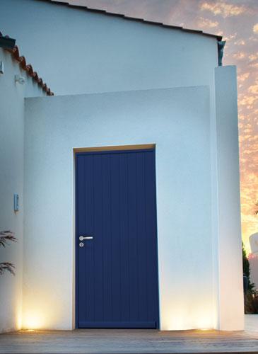 Porte d'entrée Confort K Classique bois GIMM Menuiserie