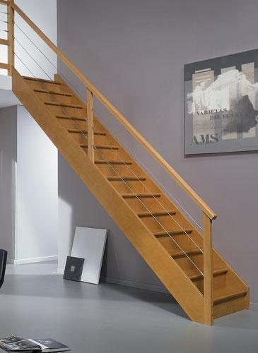 Escalier Authentique Hêtre GIMM Menuiserie