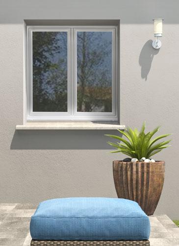 Fenêtre PVC Maxitherm² Frappe GIMM Menuiserie