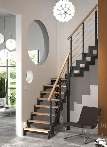 escalier cremaillere metal