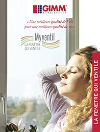 Brochure fenetre myventil GIMM Menuiseries