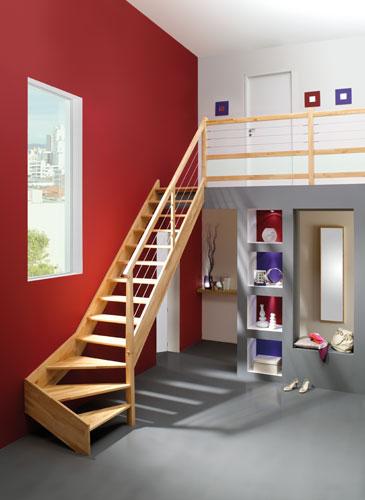 Escalier Authentique OSLAVA GIMM menuiserie