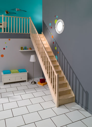 Escalier Authentique SAPIN GIMM Menuiserie