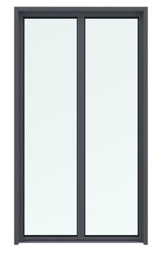 porte fenêtre 2 vantaux sans soubassement