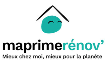 logo maprimerénov mieux chez moi, mieux pour la planète