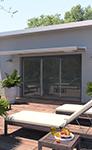 Fenêtre coulissante aluminium Prestance éligible au CITE