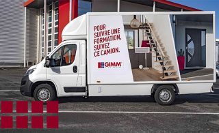 Camion de Formation GIMM Menuiseries