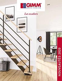 brochure escaliers gain de place GIMM Menuiseries