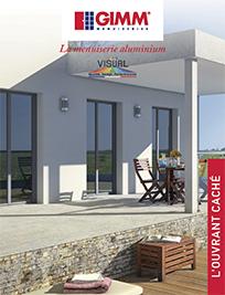 brochure menuiserie visual aluminium GIMM Menuiseries