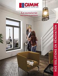 Catalogue menuiseries extérieures et intérieures pour la renovation- GIMM Menuiseries