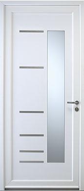 porte d'entrée pvc citrine