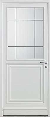Porte d'entrée PVC Clarysse