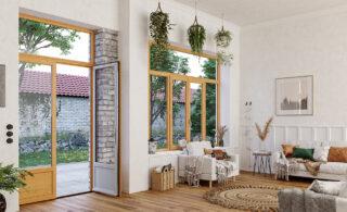 fenêtre bois sur-mesure - GIMM Menuiseries