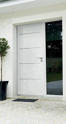 Porte d'entrée sur-mesure NATRIUM - GIMM Menuiseries
